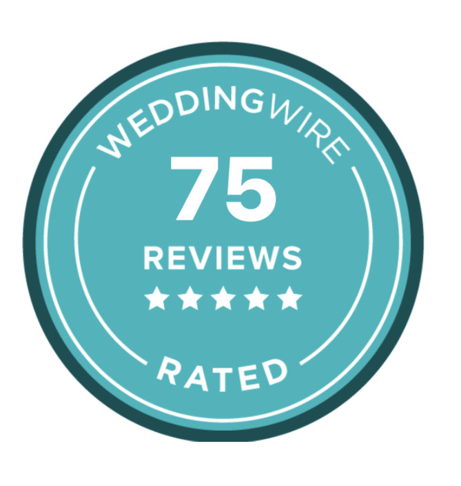 Wedding Wire 75 reviews